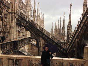 Duomo di Milano-Teras