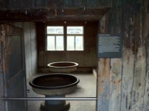 Yahudilerin kaldığı binanın iç kısmı