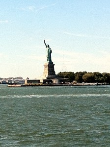 Staten Island Ferry'den Özgürlük Anıtı
