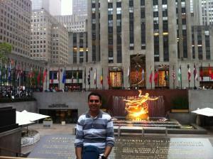 Rockefeller Binası'nın Girişi