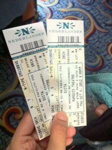 Evita Müzikalinin Biletleri