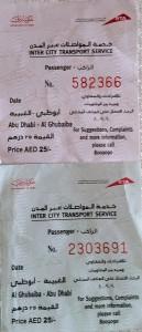 Abu Dabi-Dubai Otobüs Biletleri
