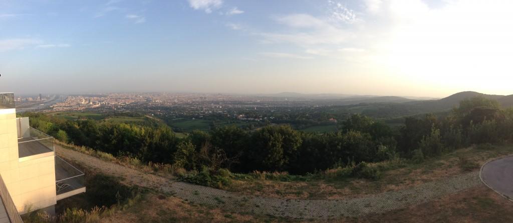 Kahlenberg'ten Viyana Manzarası