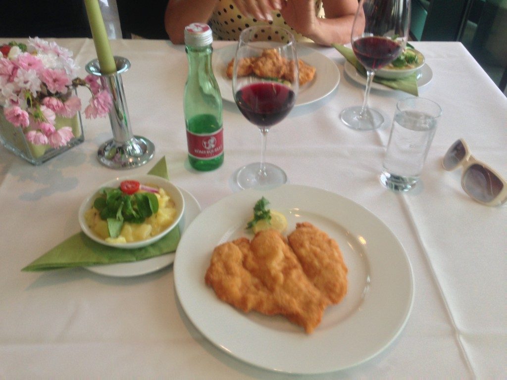 Terrasse Kahlenberg'teki Yemeğimiz