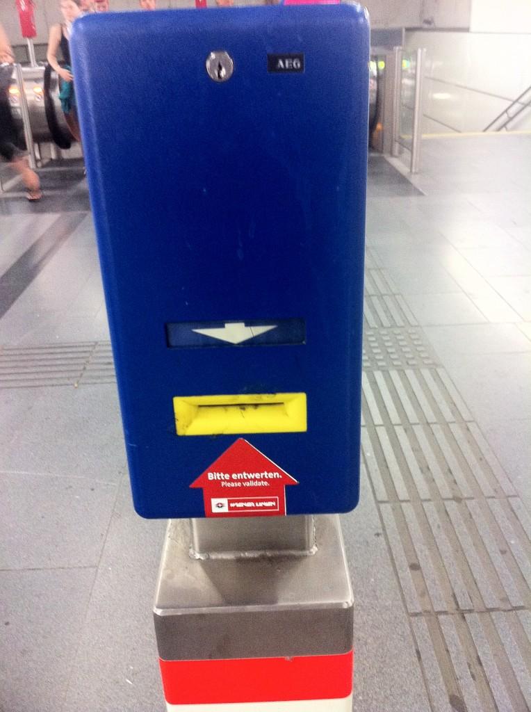 Bilet Onaylatma Makinası