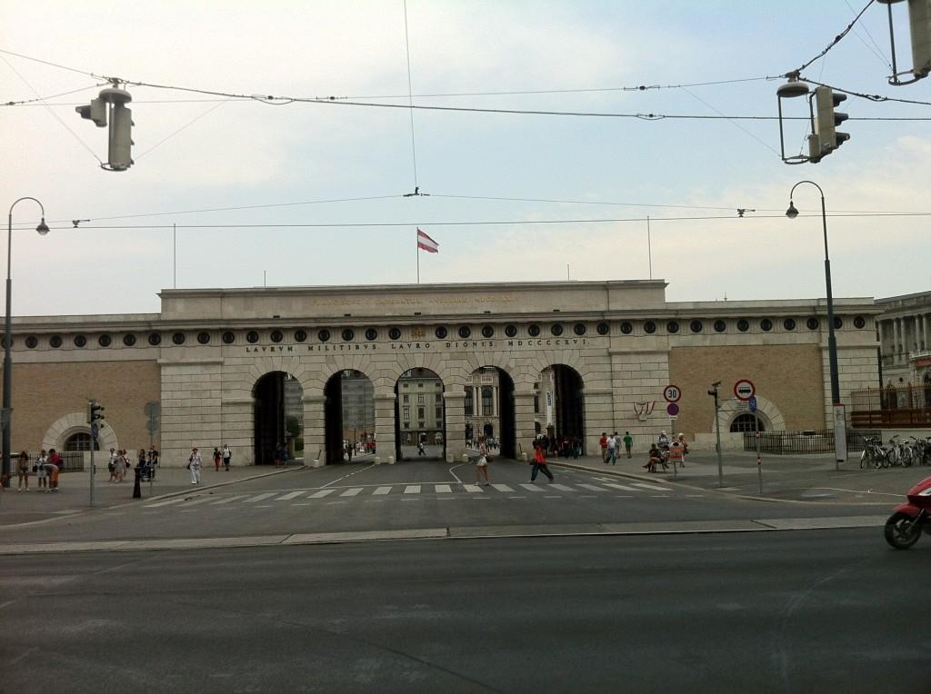 Hofburg Sarayının Girişi