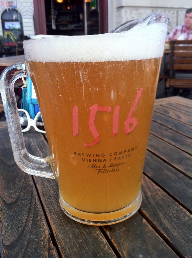 1,5 litrelik 1516 Weisse Birası