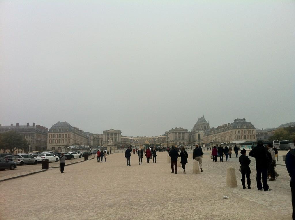 Versay Sarayı'nın Girişi