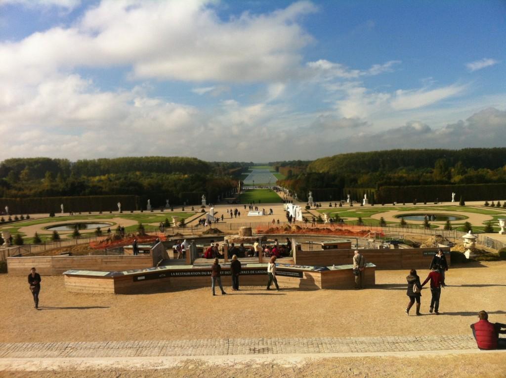 Versay Sarayı'nın Bahçesi