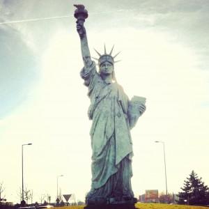 Özgürlük Heykeli(Réplique de la Statue de la Liberté)