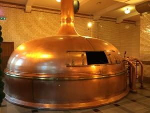 Bira yapımında kullanılan tanklar