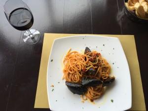 Midyeli Spagetti