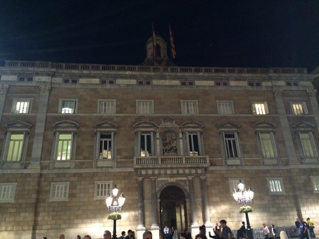 Katalonya Yönetim Binası(Generalitat de Catalunya)