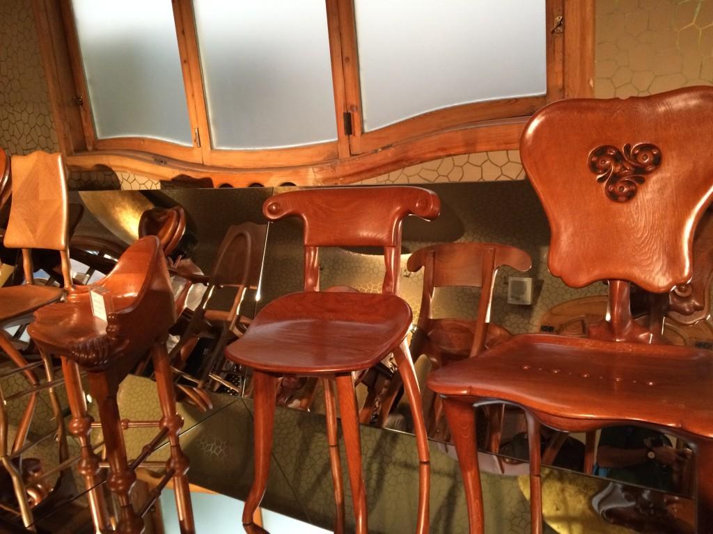 Gaudi Tasarımı Mobilyalar