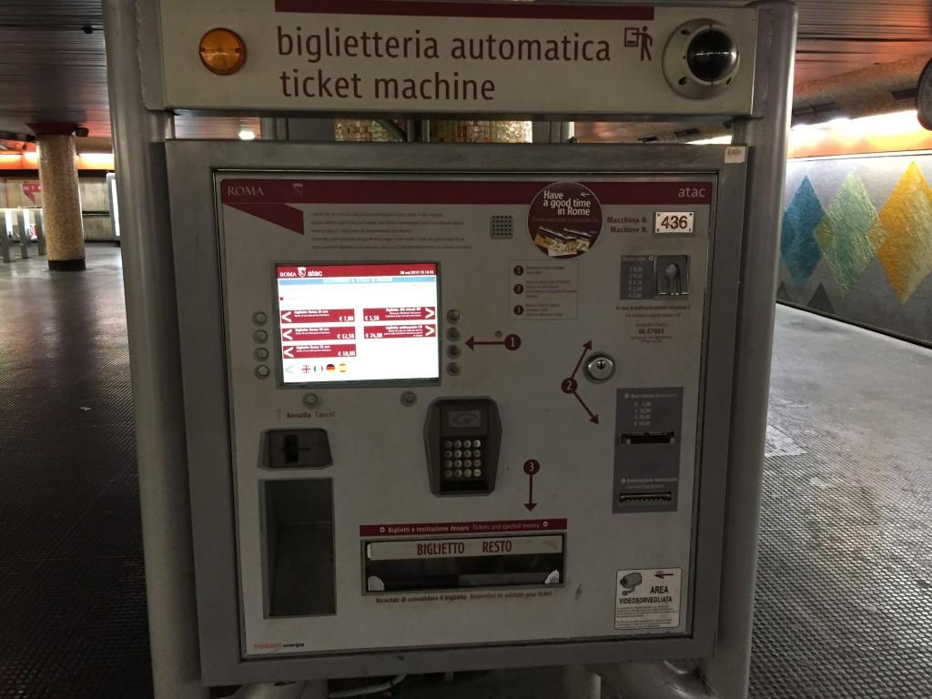 Bilet Makinası