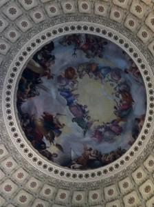Temsilciler Meclisi(Kubbe olan yapının iç kısmı)