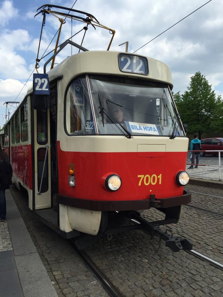 Prag'taki Tramvaylar