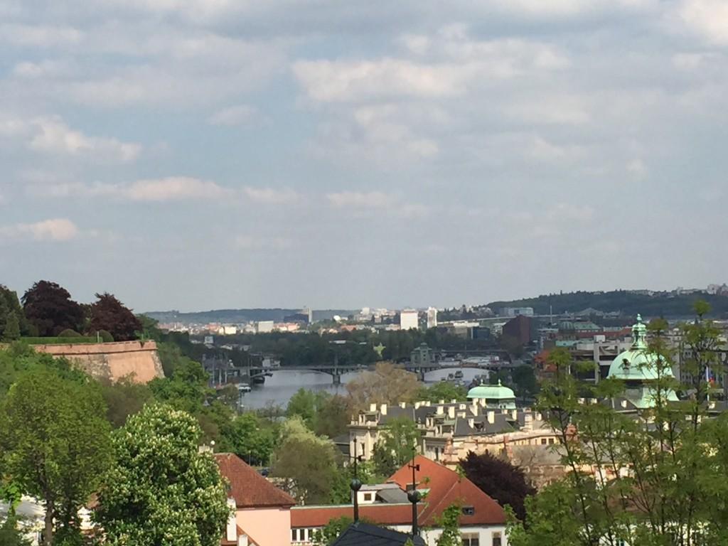 Prag Kalesi'nden Prag Manzarası