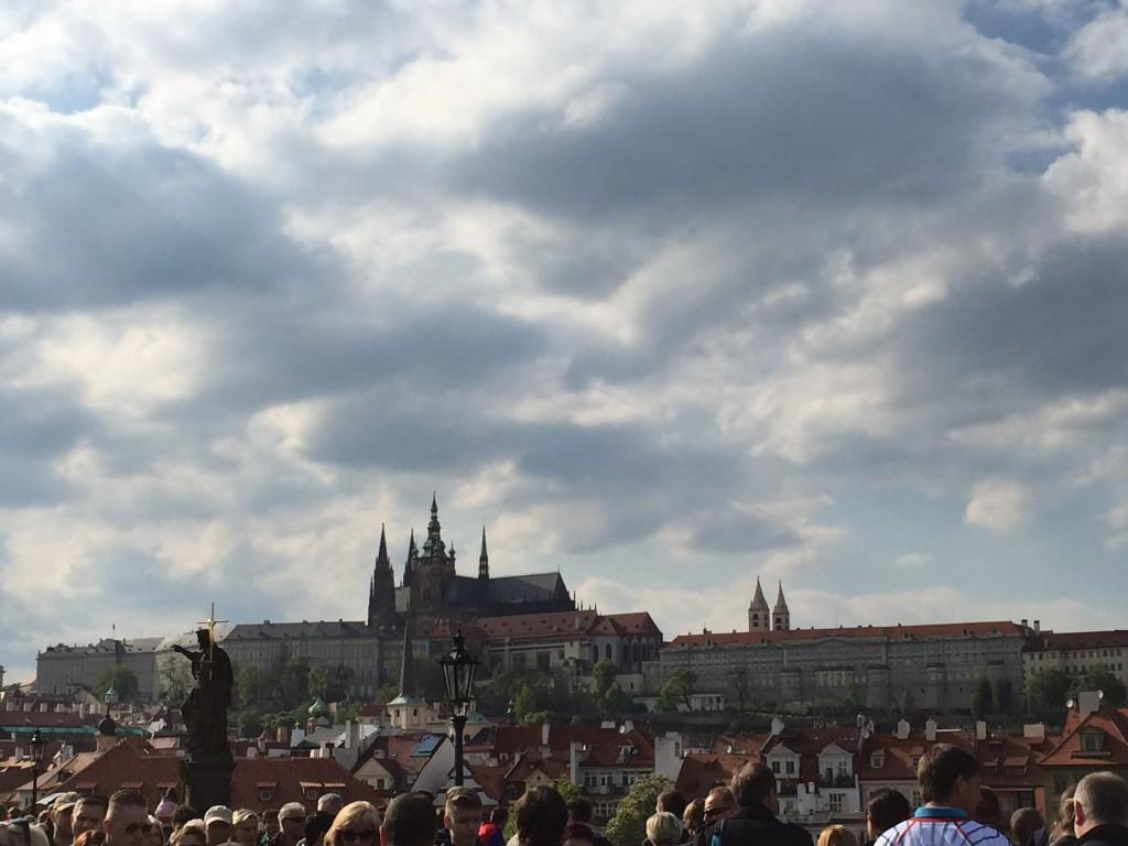 Prag Kalesi - Vltava Nehri'nden Görünüm
