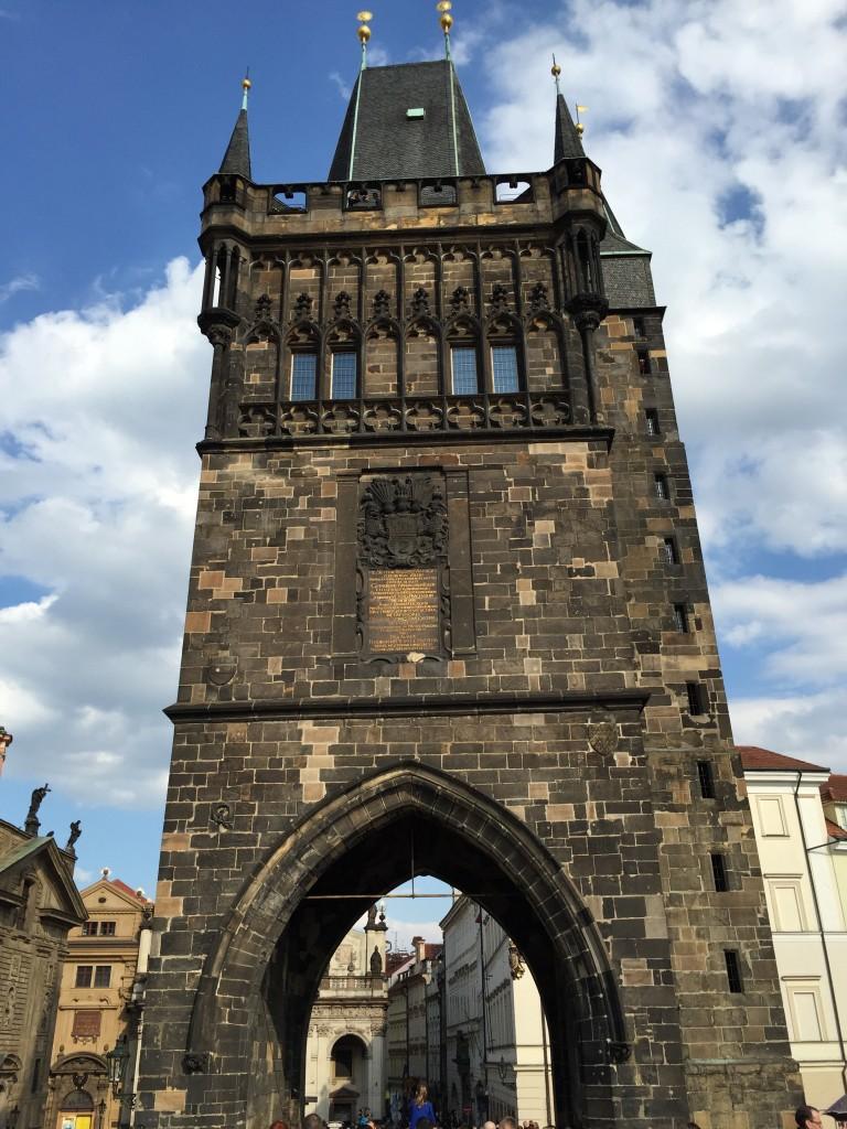 Charles Köprüsü'ndeki Kule