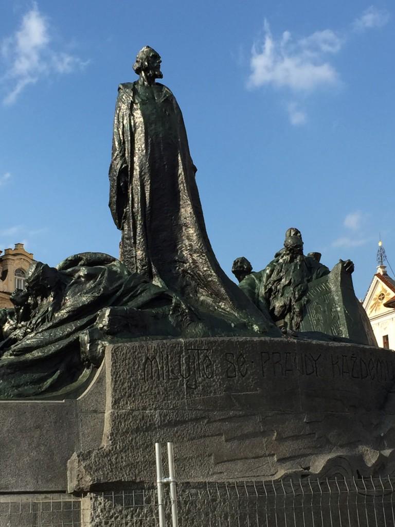 Jan Hus Anıtı (Pomník mistra Jana Husa)