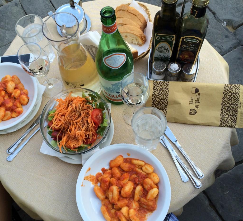 Gnocchi ve Beyaz Şarap