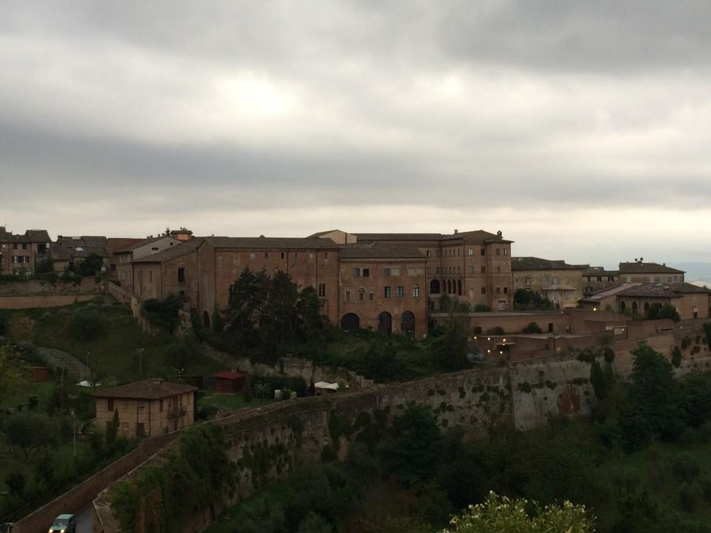 Odamızdan Siena Manzarası