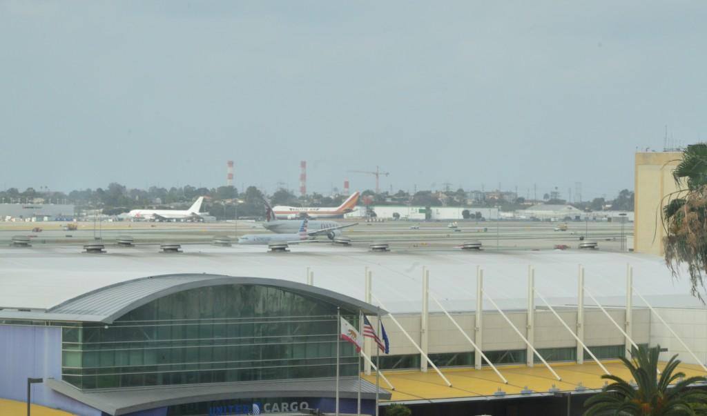 Otel odasından havaalanı