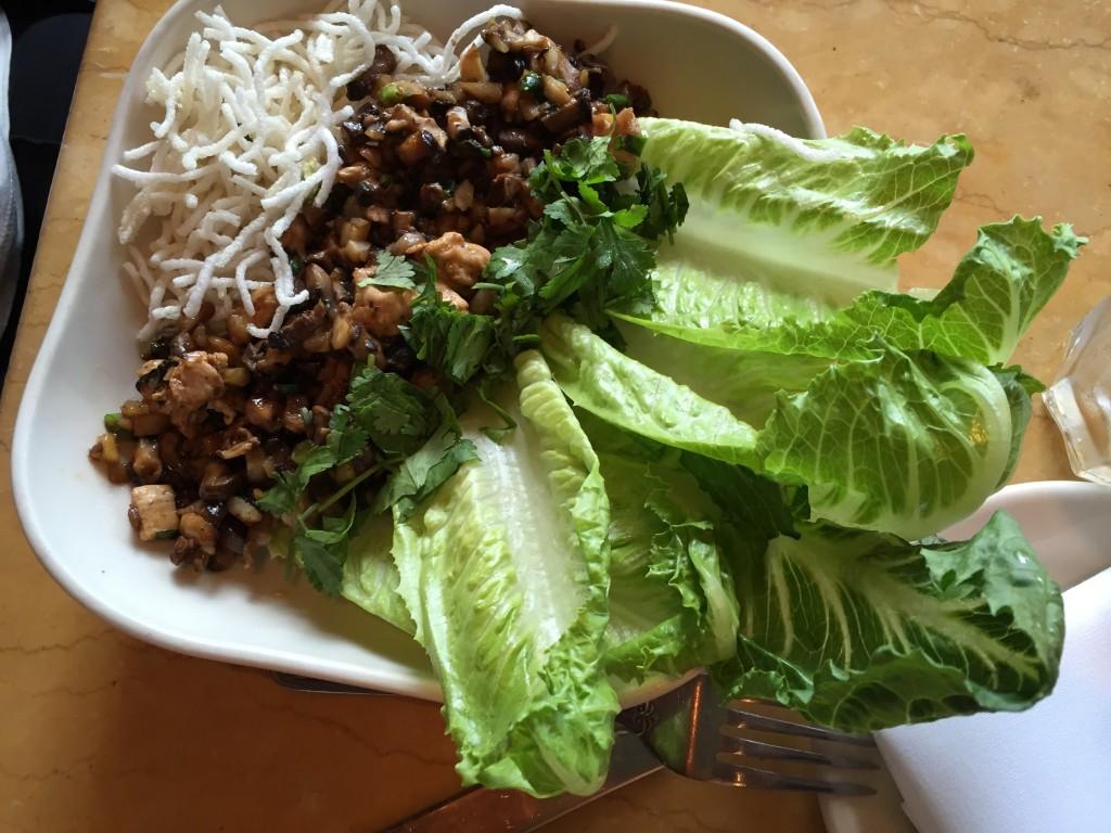 Chicken&Mushroom Lettuce Wrap
