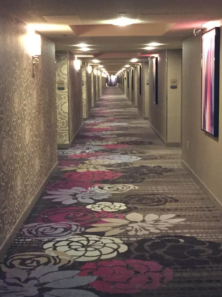 Odamız koridorun sonunda(görünmüyor) :)