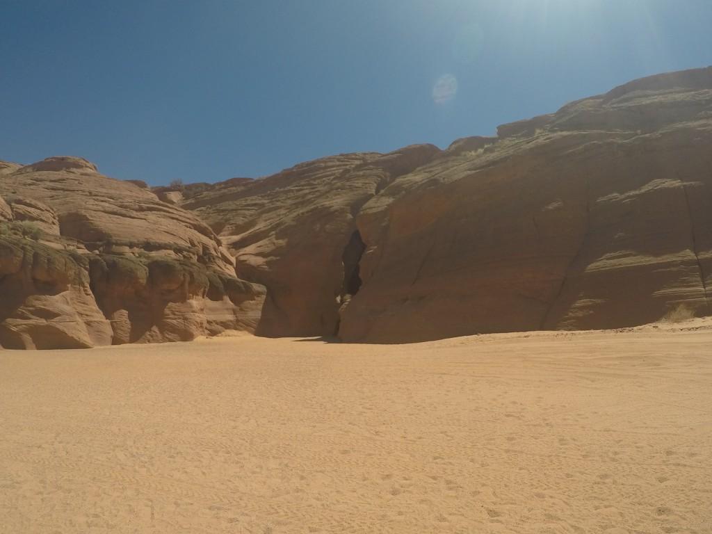 Antilop Kanyonunun Girişi