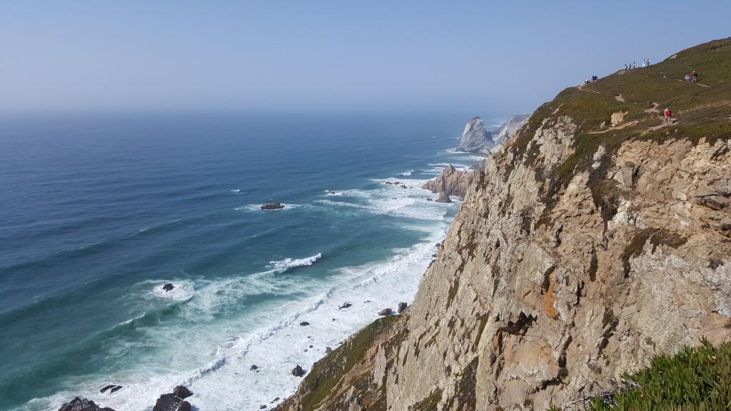 Cabo de Roca (Avrupa'nın en batı noktası)