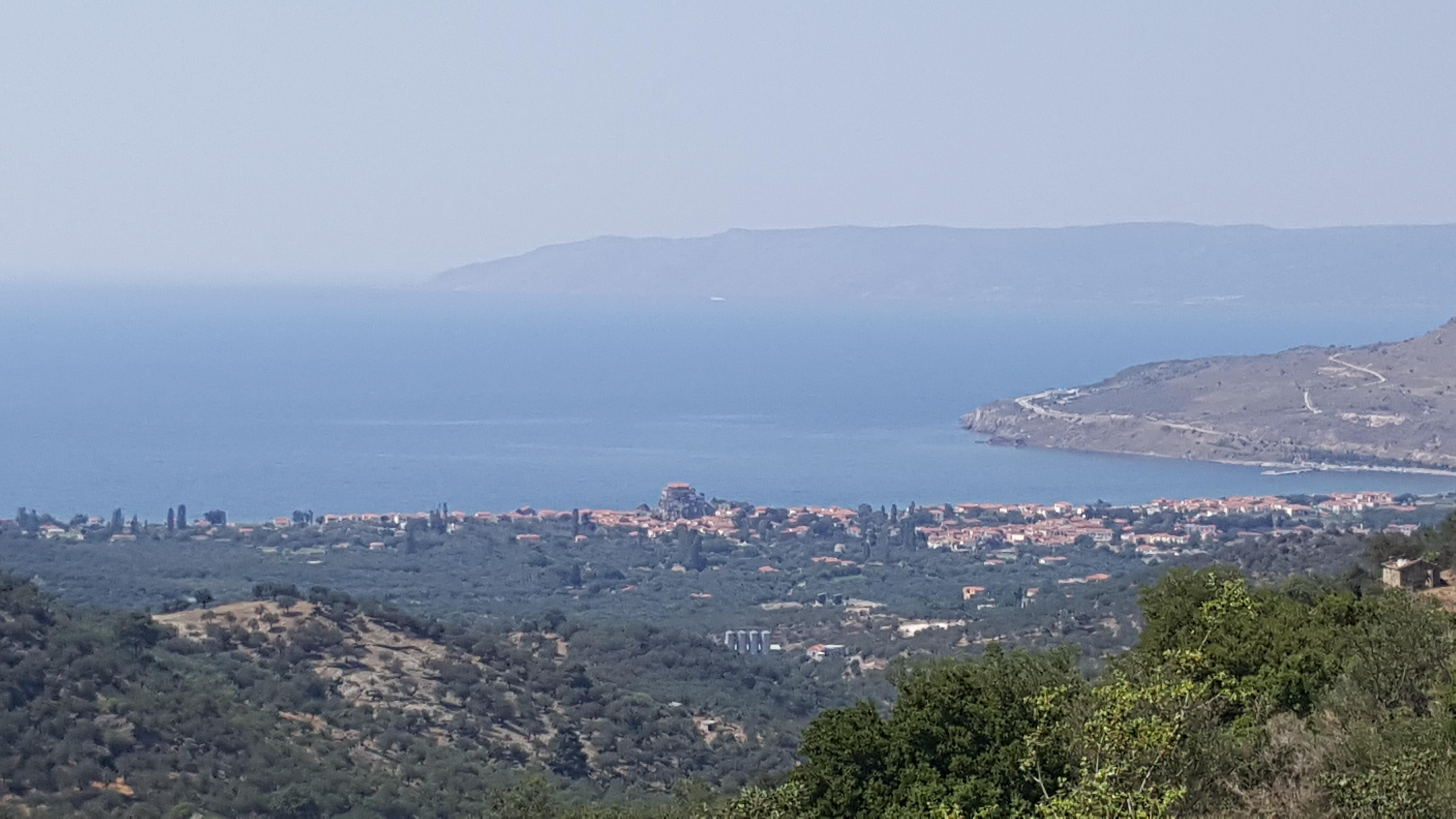 O Gavrilos'tan Petra Manzarası
